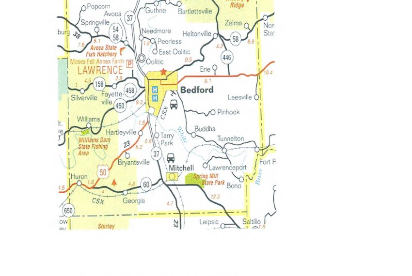 Bedford- Lawrence Co MAP